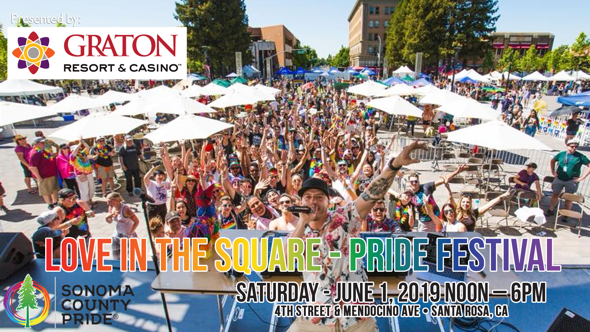 Love In The Square - Pride Festival