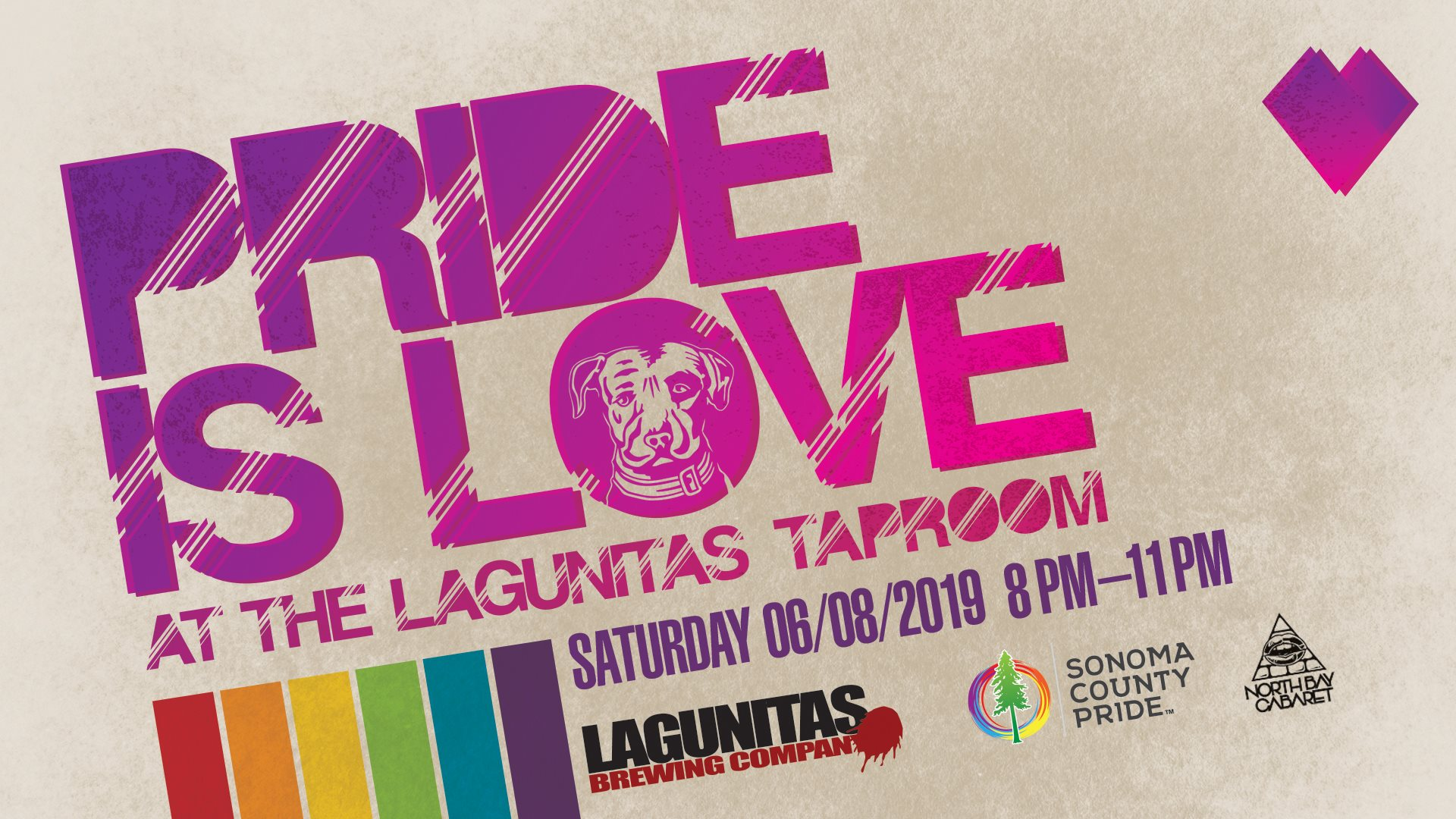Pride is Love At The Lagunita's TapRoom