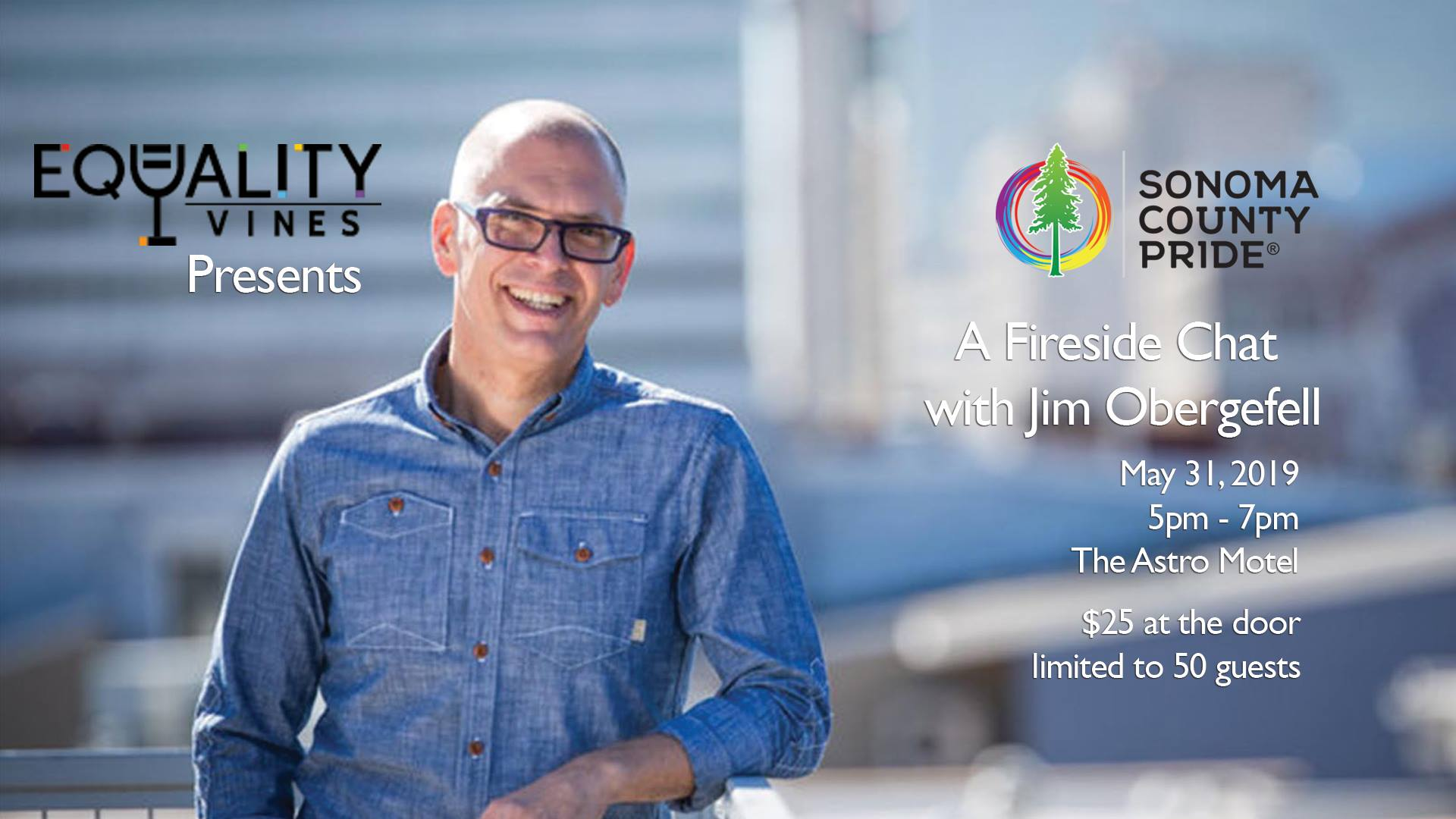 Equality Vines Presents A Fireside Chat with Jim Obergefell